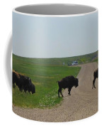 Badlands Buffalo Coffee Mug