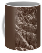 Badlands Light Bw Coffee Mug