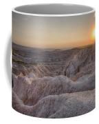 Badlands Overlook Sunset Coffee Mug