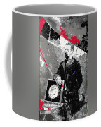 Badly Damaged Glass Plate Negative Studio Portrait Tucson Arizona C. 1885-2012 Coffee Mug