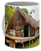 Bahnar Home With Extension As Family Grows At Museum Of Ethnology In Hanoi-vietnam  Coffee Mug