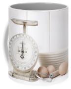 Baking Time Vintage Kitchen Scale Coffee Mug
