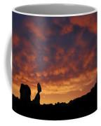 Balanced Rock Al Silhouette  Coffee Mug