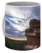 Balanced Rock At Sunrise - Garden Of The Gods - Colorado Springs Coffee Mug