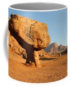 Balanced Rock Below Vermilion Cliffs Coffee Mug