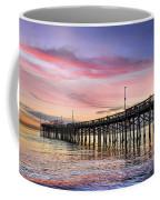 Balboa Pier Sunset Coffee Mug by Kelley King