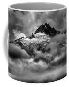 Balck And White Tantalus Peaks Coffee Mug