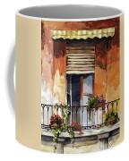 Balcony Of Ancona Coffee Mug