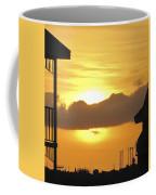 Key West Balcony Sunset Coffee Mug
