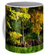 Bald Cypress 2 - Digital Effect Coffee Mug