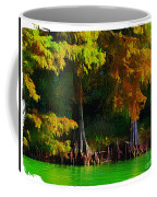 Bald Cypress 3 - Digital Effect Coffee Mug