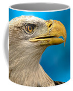 Bald Eagle And Fledgling  Coffee Mug