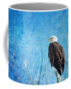 Bald Eagle Blues Coffee Mug