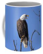 Bald Eagle Calling Coffee Mug
