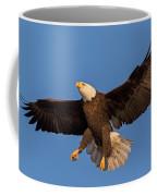 Bald Eagle Christmas Morning Coffee Mug