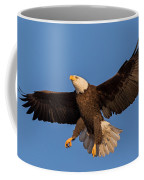 Bald Eagle Christmas Morning Coffee Mug by Everet Regal