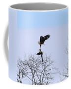 Bald Eagle Courtship Ritual  1338 Coffee Mug