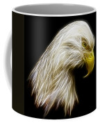 Bald Eagle Fractal Coffee Mug