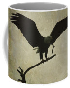 Bald Eagle Texture Coffee Mug
