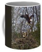 Bald Eagles At Nest Coffee Mug