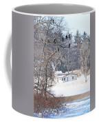 Bald Eagles In Tree In Grand Rapids Ohio 3996 Coffee Mug