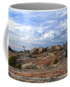 Bald Rock Panorama Coffee Mug