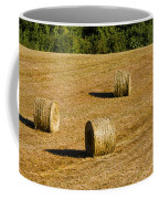 Bales In The Golden Hour Coffee Mug