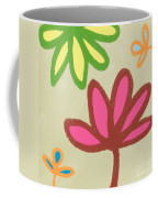 Bali Garden Coffee Mug by Linda Woods