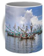Balinese Fishing Boats Coffee Mug