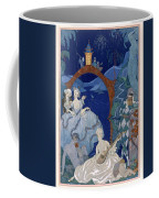 Ball Under The Blue Moon Coffee Mug by Georges Barbier