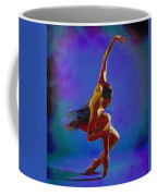 Ballerina On Point Coffee Mug