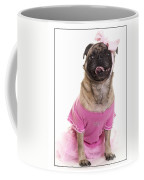 Ballerina Pug Dog Coffee Mug