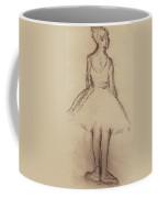 Ballerina Viewed From The Back  Coffee Mug