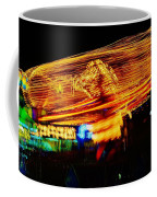 Ballons Ride At Night Coffee Mug