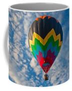 Balloon At Sunrise Coffee Mug