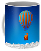 Balloon Elephant Coffee Mug by Gianfranco Weiss