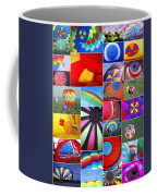 Balloon Fantasy Collage Coffee Mug