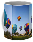 Balloon Festival Panels Coffee Mug