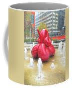 Balloon Flower In The Water Coffee Mug