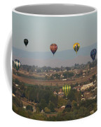 Balloons Over The Valley Coffee Mug