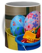 Balls And Toys In Buckets Coffee Mug