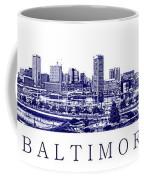 Baltimore Blueprint Coffee Mug
