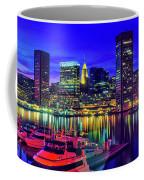 Baltimore Harbor By Night, Baltimore Coffee Mug