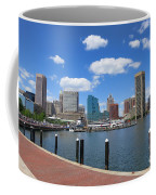 Baltimore Inner Harbor Coffee Mug by Olivier Le Queinec