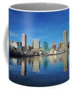 Baltimore Skyline From The Innner Harbor Coffee Mug