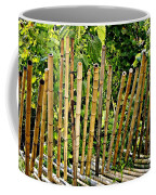Bamboo Fencing Coffee Mug by Lilliana Mendez