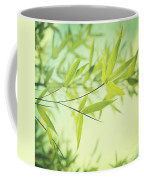 Bamboo In The Sun Coffee Mug by Priska Wettstein