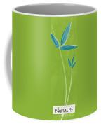 Bamboo Namaste Coffee Mug by Linda Woods