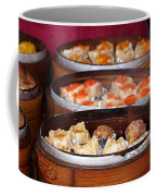 Bamboo Steamers With Dim Sum Dishes Coffee Mug