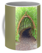 Bamboo Tunnel Coffee Mug by Olivier Le Queinec